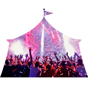 Feestband carnaval kermis La Stampa