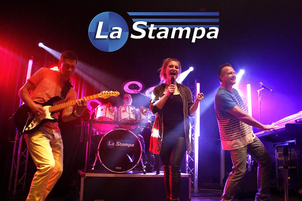 LQ Strooikaart 1 Feestband Coverband Bruiloftband La Stampa